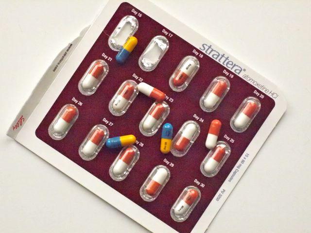 atomoxetine strattera drug information