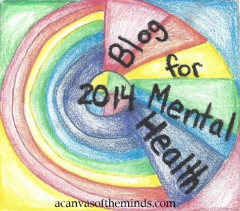 Click this image to learn more about Blog for Mental Health 2014