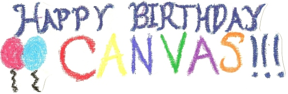 Canvas birthday banner - Copy